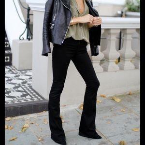 COH Black Flare Jeans